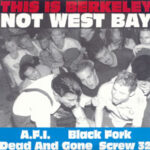 """AFI – """"This Is Berkeley, Not West Bay EP"""" (1994)"""