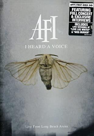 AFI – I Heard A Voice DVD (2006)