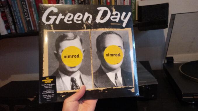 Winylowe środy Green Day - Nimrod 20TH ANNIVERSARY EDITION