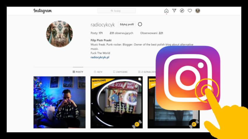 Media społecznościowe - Instagram