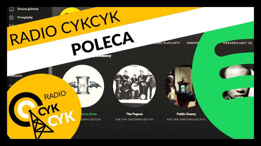 RADIO CYKCYK POLECA
